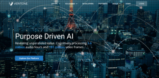 Veritone Makes AI More Accessible with AWS